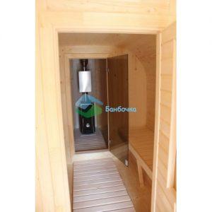 Замена межкомнатной двери на стеклянную бронза/матовая